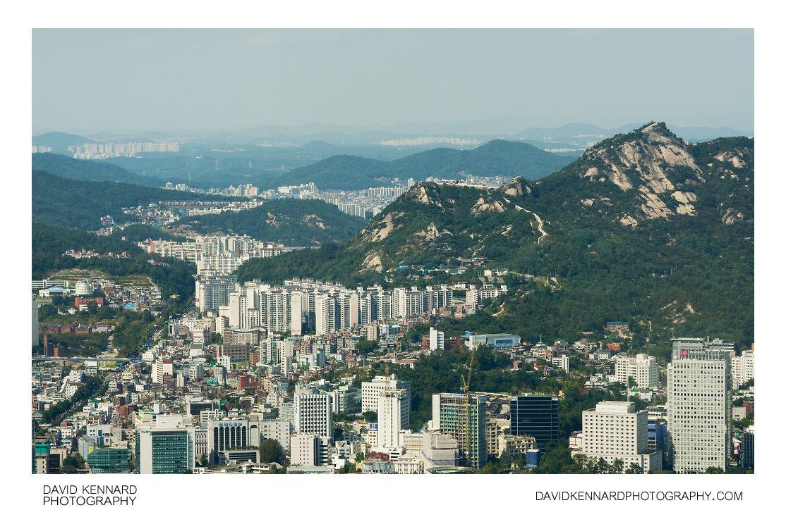 Ingwansan from Namsan