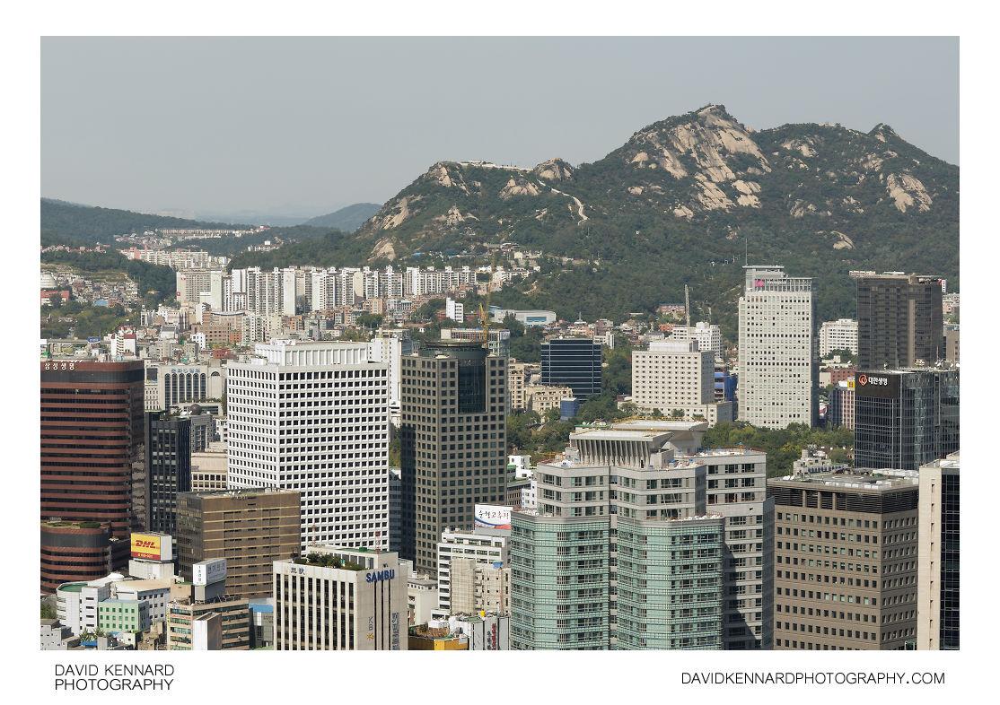 Inwangsan from Namsan
