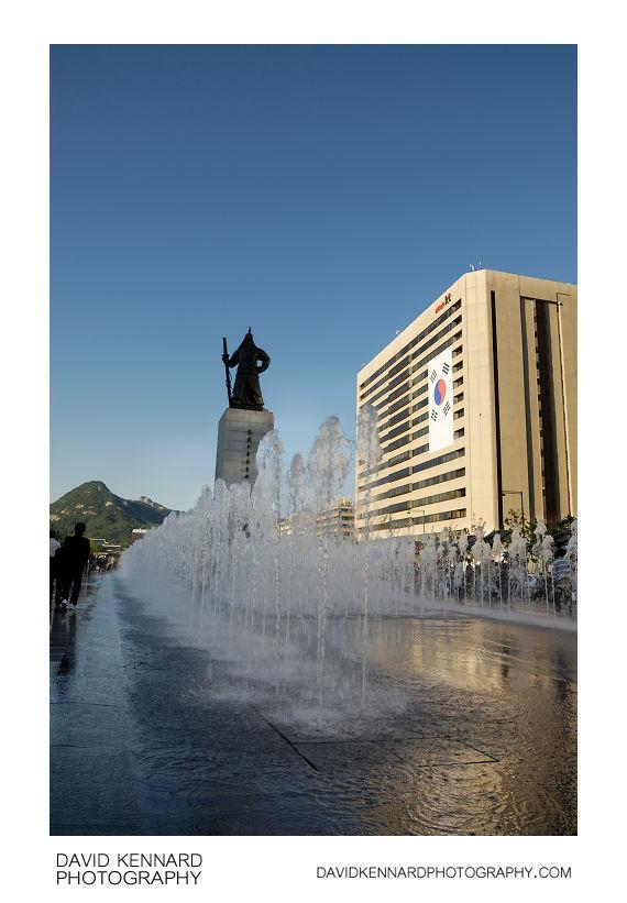 Admiral Yi Sun-sin Fountain