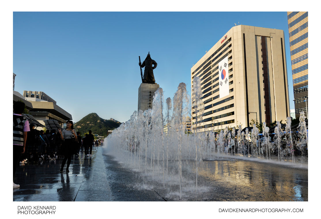 Admiral Yi Sun-sin Fountain