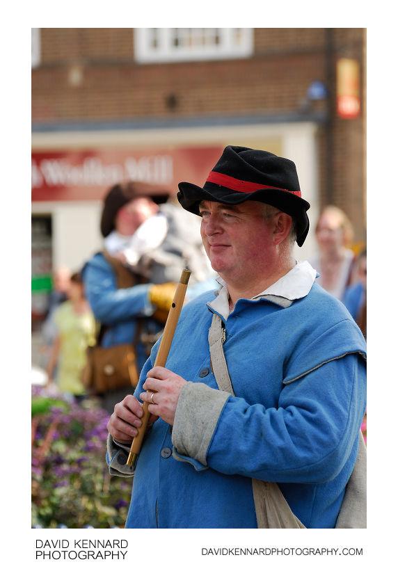 English Civil War Royalist Fifer