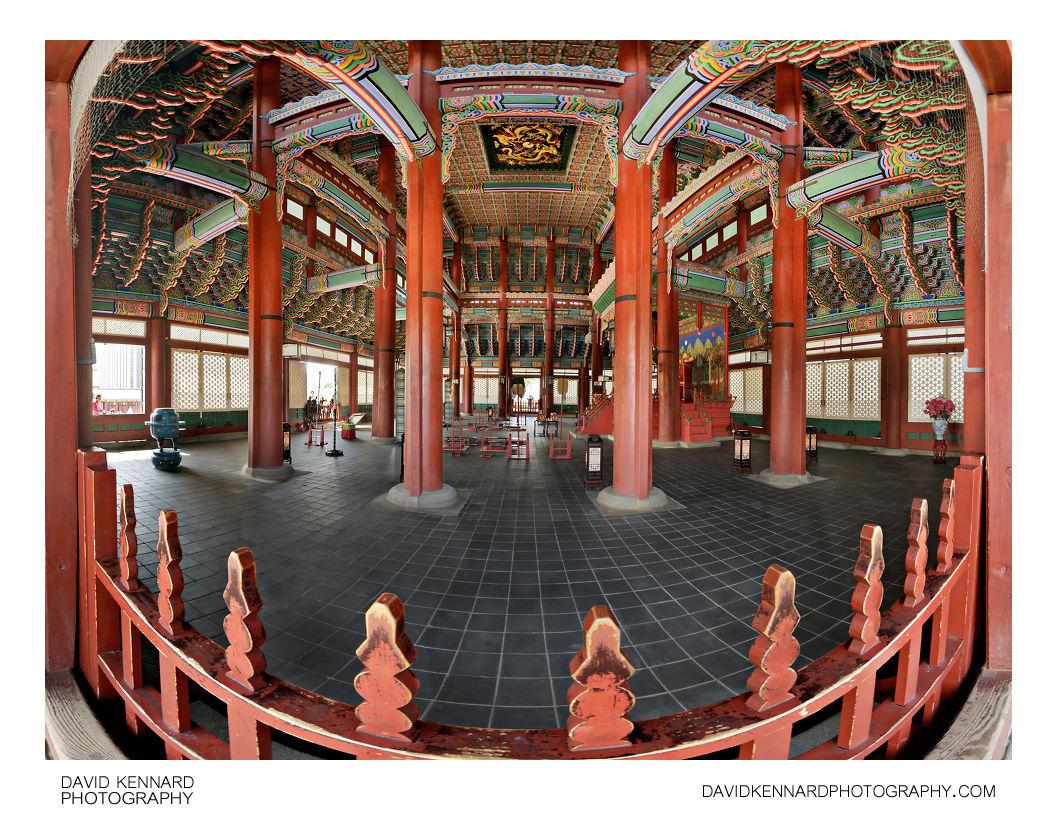 Geunjeongjeon Throne Room