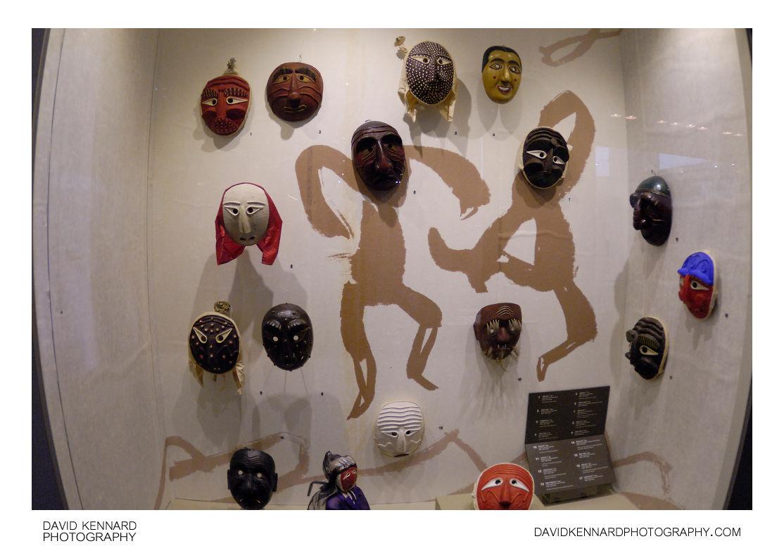 Traditional Korean Masks 탈