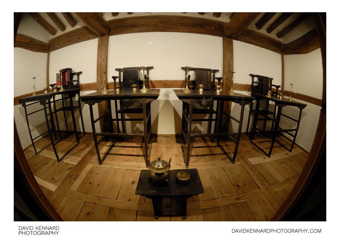 Seats for ancestor spirits