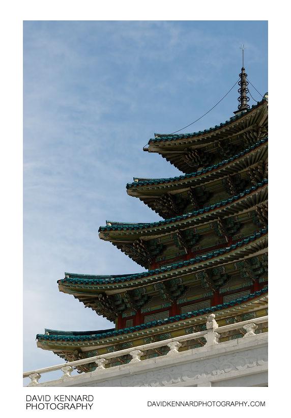 5 storey pavilion - National Folk Museum of Korea