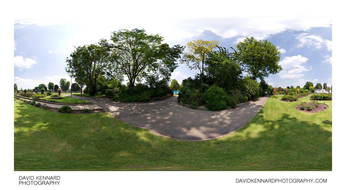 Welland Park Rose Garden 360 panorama