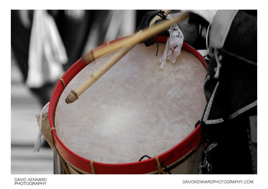 English Civil War Royalist Drummer