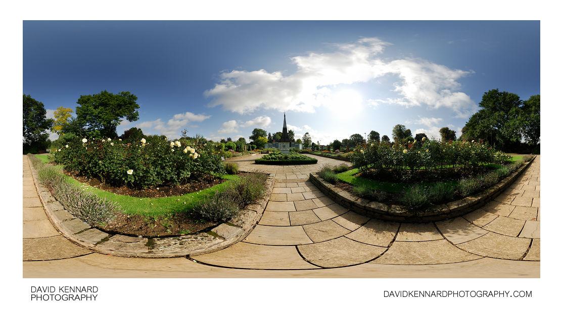 Welland Park Rose Garden