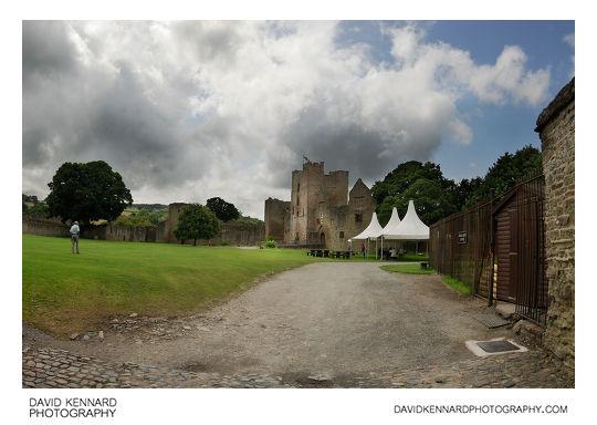 Inside Ludlow Castle