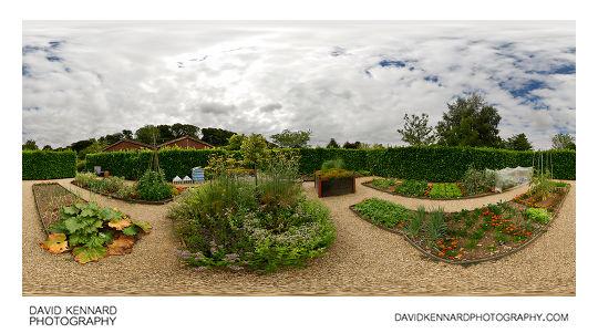 Elizabethan Vegetable Garden, Barnsdale Gardens