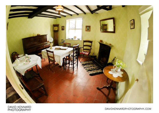 Bailiff's cottage - Living Room at Acton Scott Victorian Working Farm