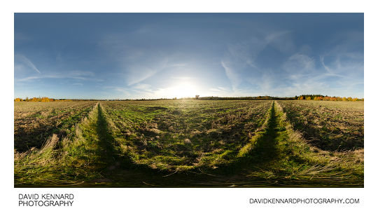 360° panorama of Farndon Fields in Market Harborough