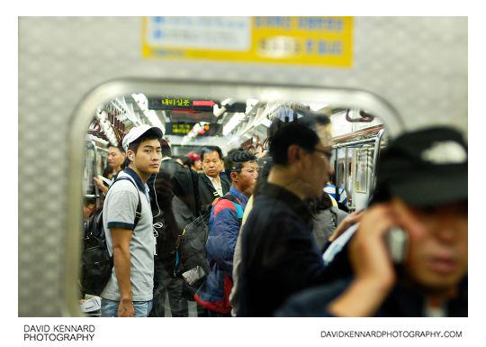 On the Seoul Metro
