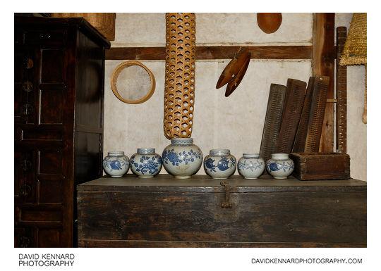 Inside a late Joseon period Korean house