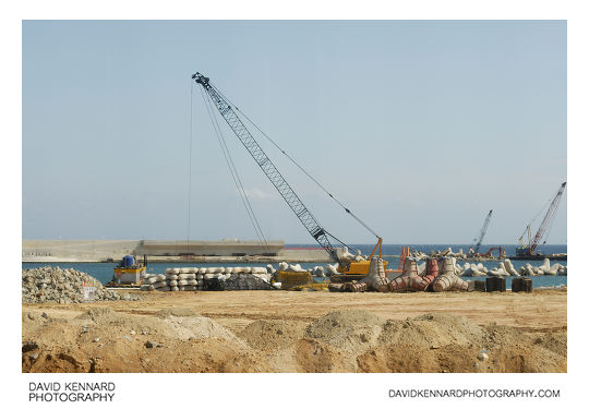 Daepohang Parking construction project