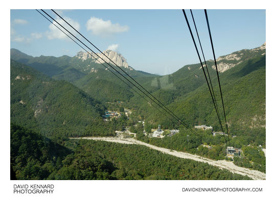 View from Sorak Cable Car