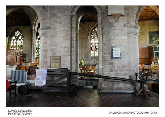 Ducking Stool, Priory Church, Leominster