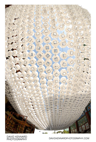 Paper lanterns, Jogyesa