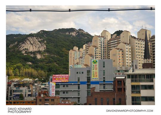 Buram mountain and Sanggye-dong