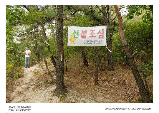 Forest Fire Watch poster, Buramsan