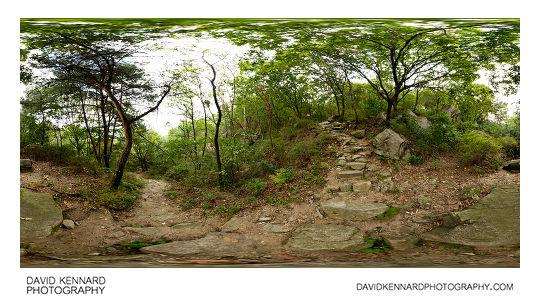 Path up Buramsan