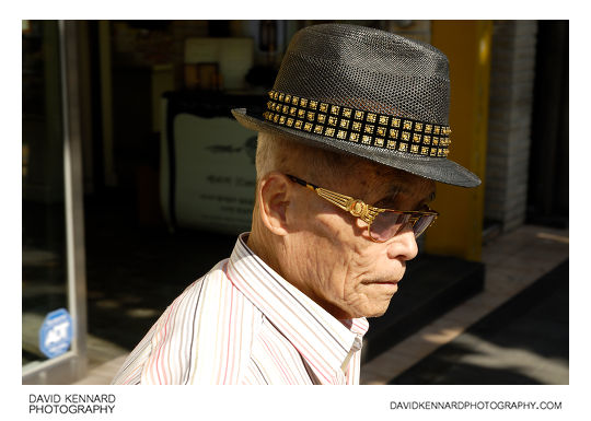 Elderly Korean gentleman
