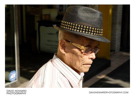 Elderly Korean gentleman