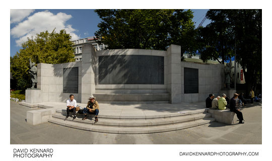 Decalaration of Independence Monument, Tapgol Park
