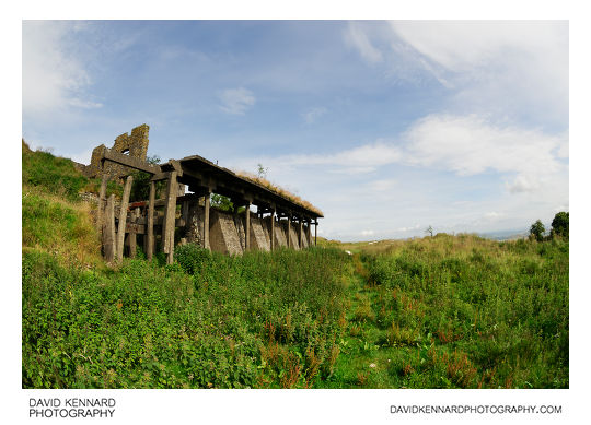 Crushing Plant Ruins, Brown Clee Hill