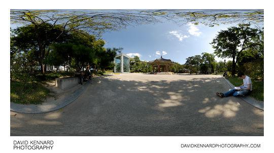 Tapgol Park panorama