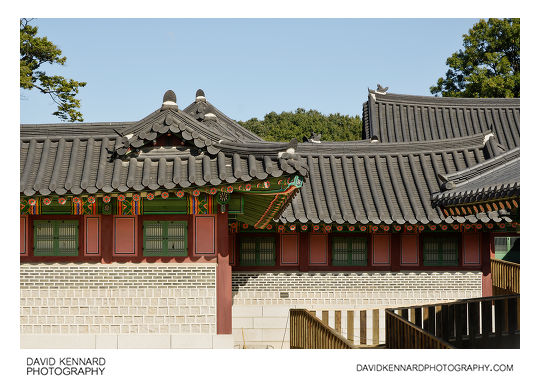 Buildings in Changdeokgung Palace