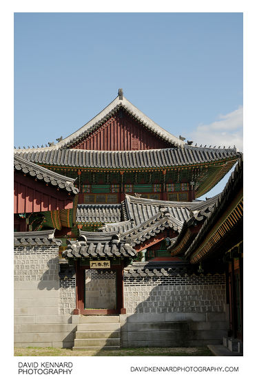 Bochunmun and Injeongjeon, Changdeokgung palace