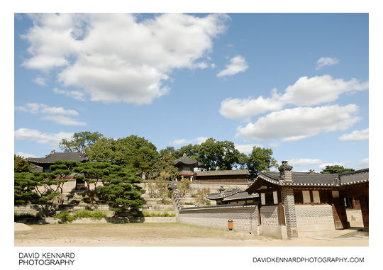 Nakseonjae area gardens, Changdeokgung palace