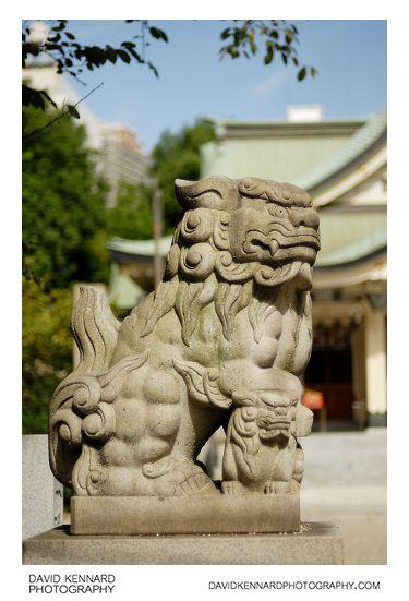 Komainu at Namba Yasaka Jinja