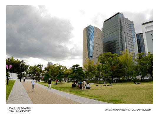 South-west of Osaka Castle Park