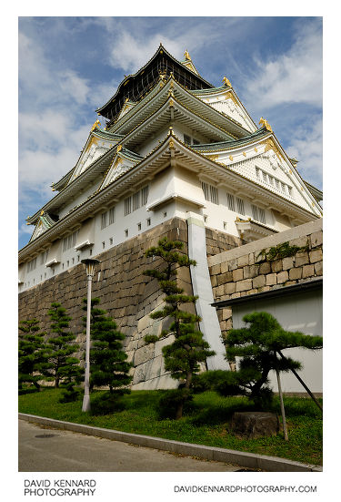 Tenshukaku, Osaka Castle
