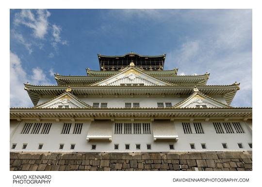 Osaka Castle donjon