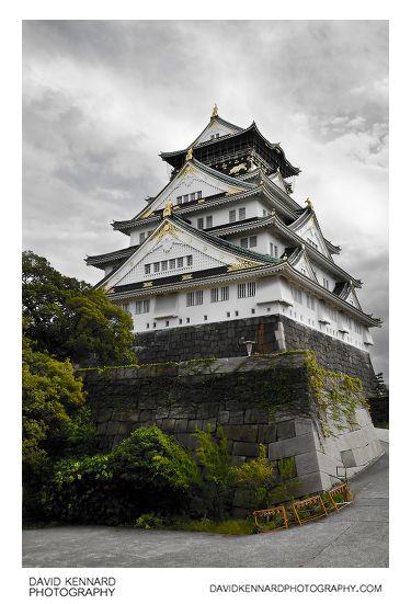 North face of Osaka Castle Tenshukaku