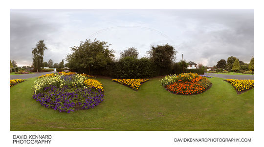 Flower displays at Welland Park Summer 2012