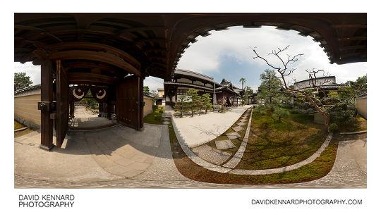 Ryousokuin Zen Garden, Kenninji