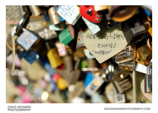Locks of Love at N Seoul Tower