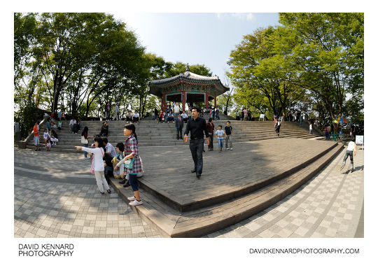 Palgak-jeong (팔각정) at the top of Namsan (남산)