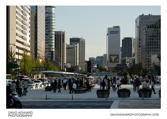 Sejongno and Gwanghwamun Plaza