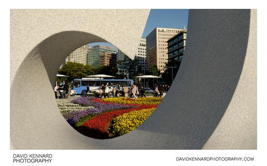 Sculpture on Gwanghwamun Plaza