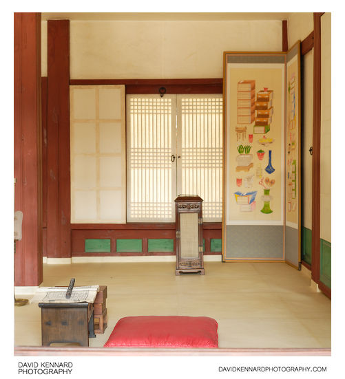 Cheonchujeon Hall Interior