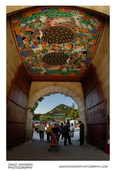 Sinmumun Gate 신무문