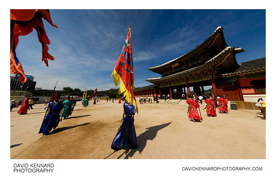 Gyeongbokgung Palace Changing of the guard