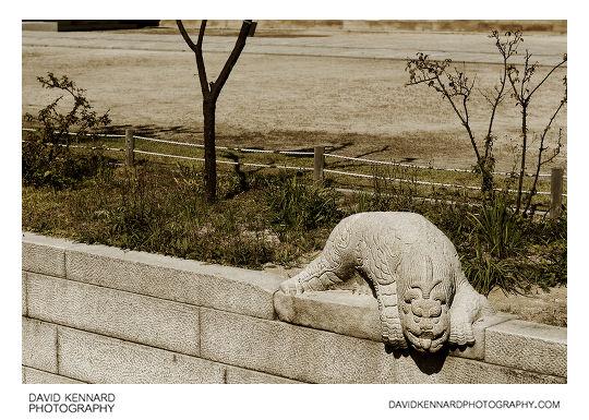 Sanye sculpture guarding Geumcheon, Gyeongbokgung Palace