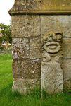 Braunston Goddess stone carving
