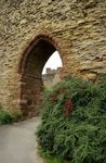 Ludlow Castle Wall Entrance